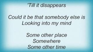 Alan Parsons Project - Some Other Time Lyrics