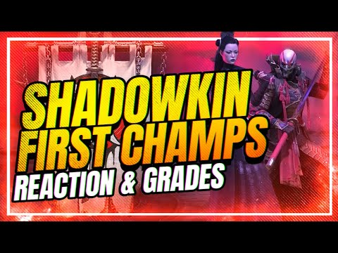 NEW CHAMPS GRADED! Guaranteed Lix?? | RAID Shadow Legends