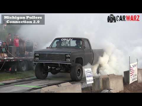 Black Truck Does Smokey Burnout At WMP In Kent City Michigan 2018