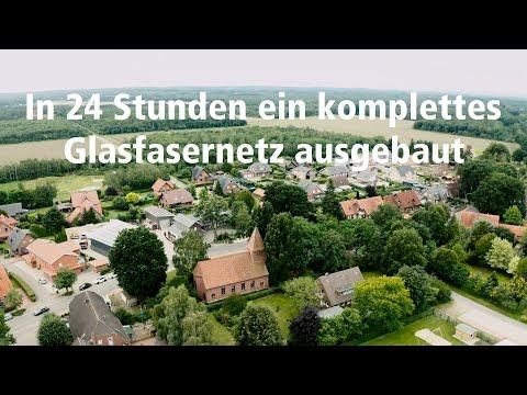 Rekord-Glasfaserausbau in Fladderlohausen