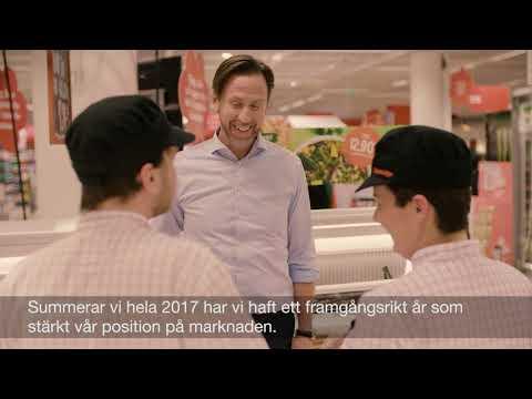 Axfoods vd Klas Balkow om verksamhetsåret 2017