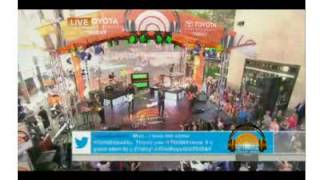 "OneRepublic Perform NEW SONG ""Ordinary Human"" on ""The Today Show"" (July 25th, 2014)"
