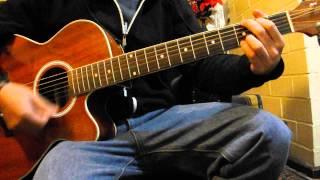 Arctic Monkeys - Mardy Bum (Acoustic cover) (Glastonbury 2013)