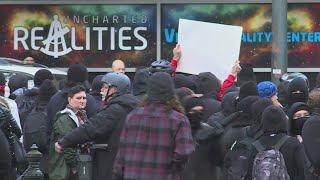 KKK cancels Portland rally, 3 protesters arrested