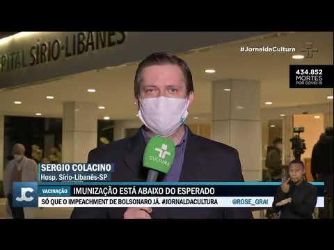 Bruno Covas continua internado em São Paulo
