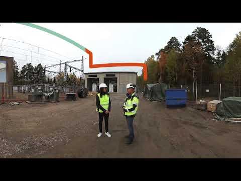 Ombyggnation Karlstads östra mottagningsstation - del 2 (360-film)