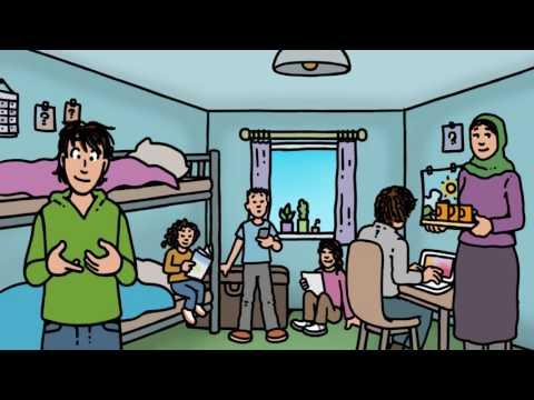 Project Time4you:  'Op de vlucht': tekenfilm voor kinderen van asielzoekers (lange versie) photo