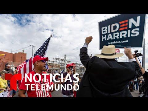 Gritos y consignas proTrump: tenso ambiente en Arizona por las elecciones presidenciales