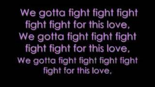 Cheryl Cole Fight for this love lyrics