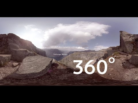 Scandinavian Hub: 360 at Norway's Troll's Tongue
