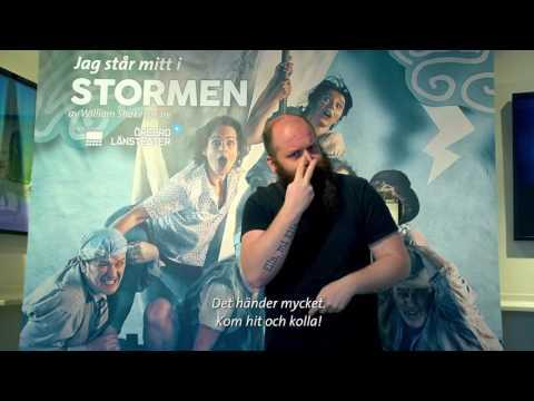 STORMEN - Teckenspråkstolkad 20 jan 2017