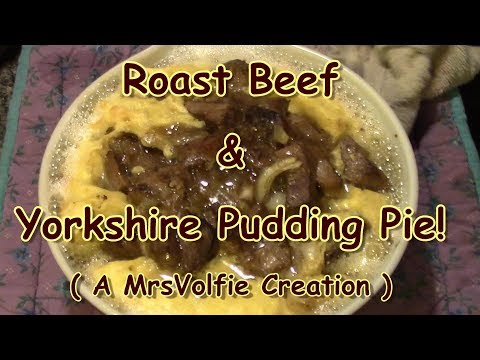 Roast Beef & Yorkshire Pudding Pie