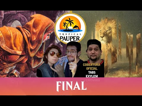 UW Familiar VS Jeskai Ephemerate - Tropical Pauper - Narração ao vivo - Rodada 2