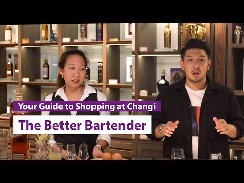 iShopChangi: The Better Bartender