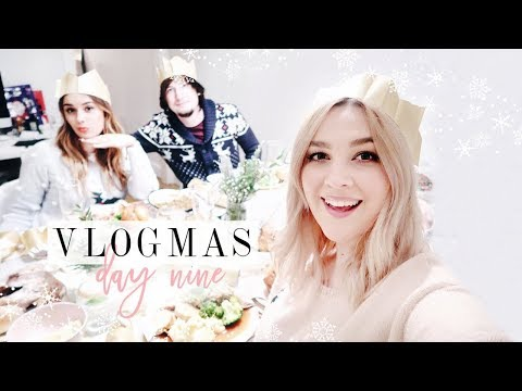 FRIENDMAS & COOKING CHRISTMAS DINNER! | Vlogmas Day 9 | I Covet Thee
