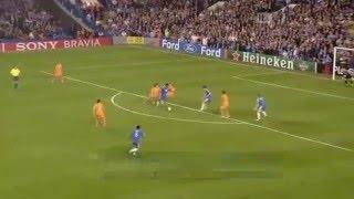 Didier Drogba Goal 18.10.2006 Chelsea FC - FC Barcelona 1:0