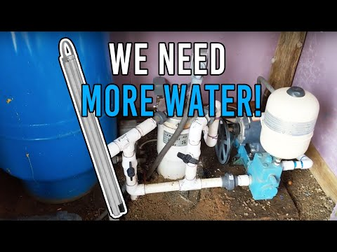 We Need More Water!