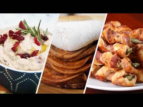 Three Thanksgiving Appetizers To Hold You Until The Big Meal ? Tasty Recipes