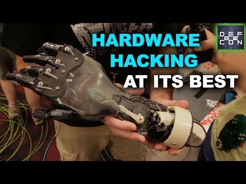 DEF CON 24 ▶︎ The Bionic Hand Made from One Keurig Coffee Maker