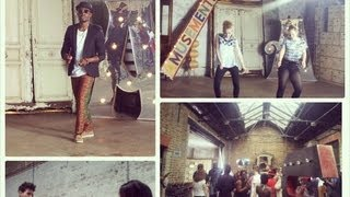 AZONTO VIDEO SHOOT - Fuse ODG | Behind the scenes + Azonto in the UK