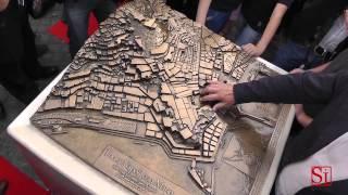"""Napoli - """"Tocca Napoli con mano"""", la mappa tattile della città -2- (19.05.13)"""