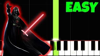 HOW TO PLAY Star Wars [Easiest Piano Tutorial] (RIGHT HAND ONLY)
