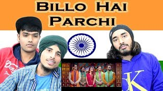 Indian reaction on Billo Hai | Parchi | Sahara feat Manj Musik & Nindy Kaur | Swaggy d