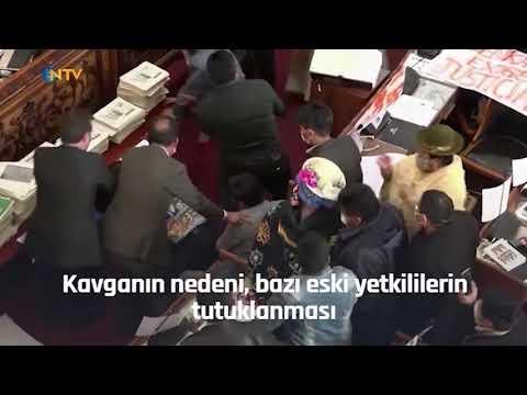 NTV   Milletvekilleri birbirine girdi