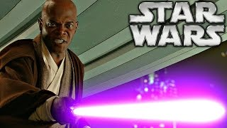 How Mace Windu Got His Purple Lightsaber - Star Wars Explained