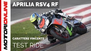 Aprilia RSV4 RF | Test ride in pista
