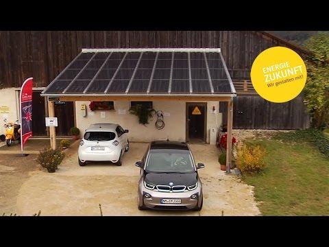 Bürgerenergiepreis Oberpfalz 2016: Solar-Carport mit E-Ladestation