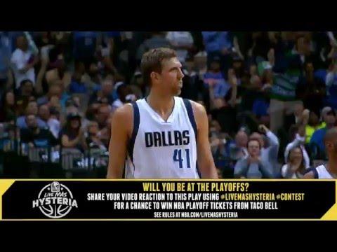 Taco Bell #LiveMasHYSTERIA: Dirk Beats the Buzzer!