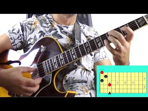 Most useful G7 with bass on 6th string- Jazz Guitar Lessons
