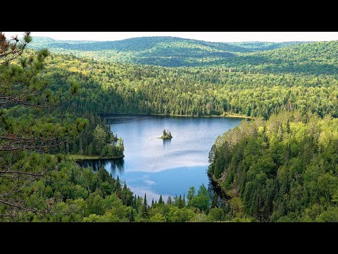 La Mauricie National Park, Quebec, Canada in 4K Ultra HD