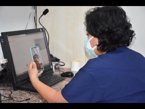Karantinadaki diş hastaları görüntülü sistemle muayene oluyor