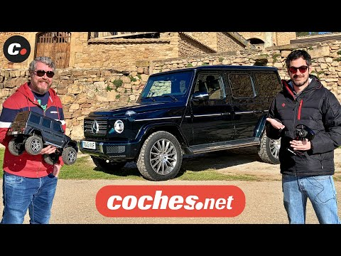 Mercedes Clase G vs Traxxas TRX-4 G500  2020 | Comparativa / Test / Review en español | coches.net