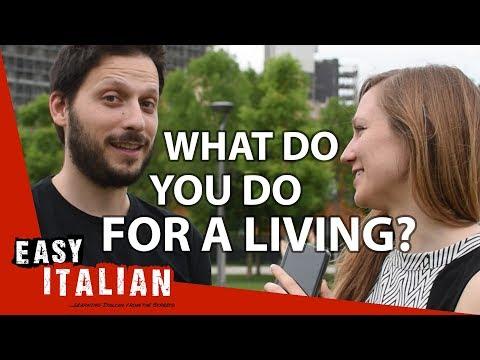 What do you do for a living? | Super Easy Italian 2 photo