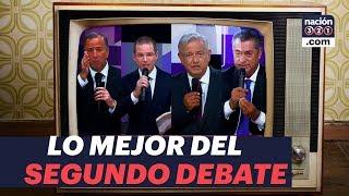 Lo mejor del segundo debate