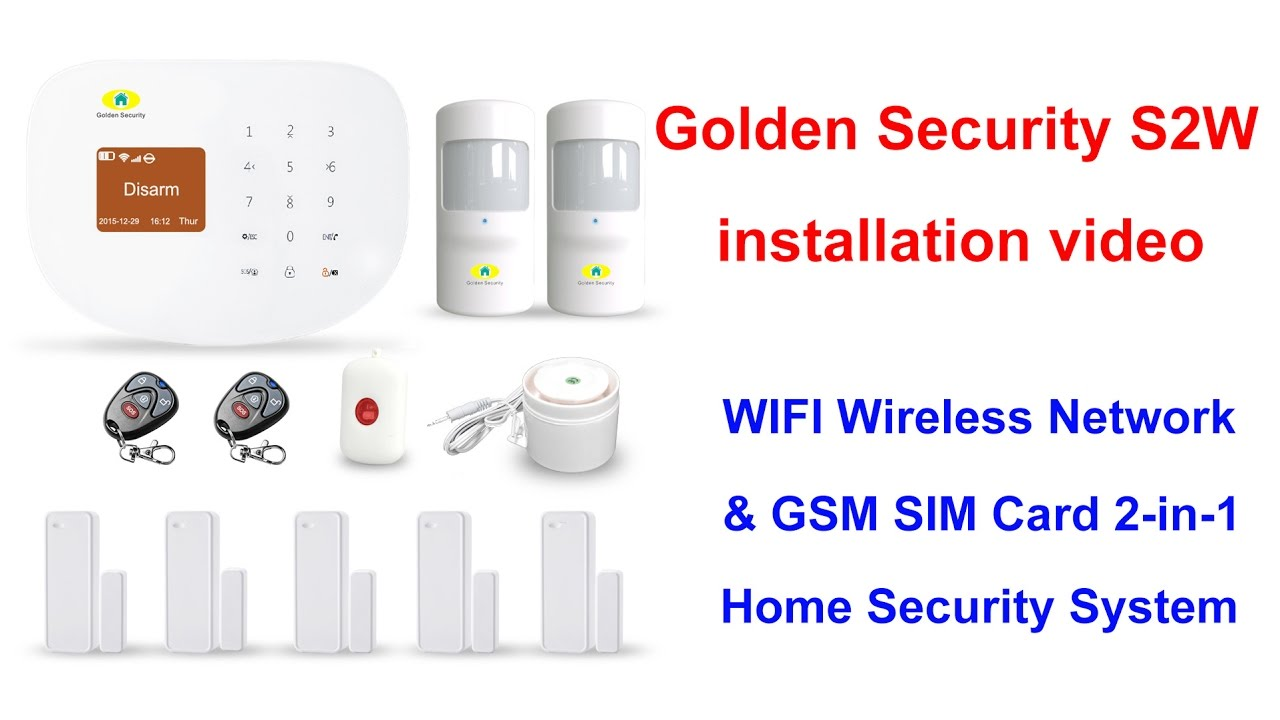 Self Monitored Home Security System Lillian TX