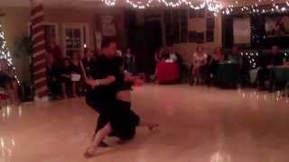 Arthur Murray Scottsdale Jingle Bell Ball 12-5-Mathew Saavedra & Kristie
