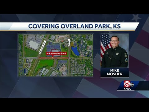 Officer Mike Mosher Boulevard to honor a fallen hero