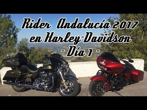 Motosx1000: Rider Andalucía  2017 en Harley-Davidson  -  Día 1 -