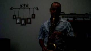 My heart will go on (love theme from Titanic movie) in Kenny G (e-series) alto saxophone
