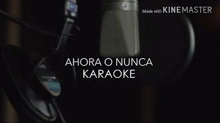 Corina Smith - Ahora o Nunca Karaoke