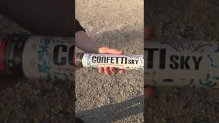 How to Use a Confetti Cannon
