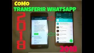 Como pasar whatsApp de un telefono a otro sin perder mis conversaciones 2018 | Copia de seguridad |