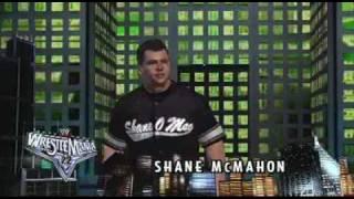 Shane McMahon Entrance - SVR 07 - HQ Widescreen - Xbox 360