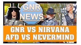 Guns N' Roses Vs Nirvana  Appetite For Destruction vs Nevermind!