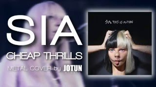 Sia - Cheap Thrills (Metal Cover by Jotun Studio)