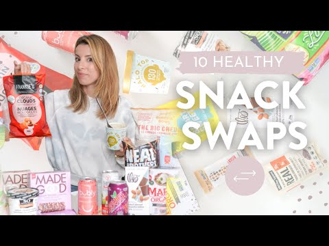 10 HEALTHY SNACK SWAPS | Eat This Not That!